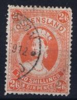 Queensland:  Mi 124  Used  1907 - 1860-1909 Queensland