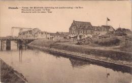 Diksmuide Desaix Postkaart Yzerzicht Opbouw 1925 Niet Verstuurd  Inktsporen Op Rugzijde. - Diksmuide