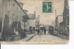 VIERVILLE SUR MER   Rue Pavee , Carte Moy - France