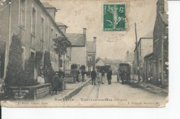 VIERVILLE SUR MER   Rue Pavee , Carte Moy - Frankreich