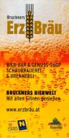 Broschüre Prospekt Folder 3292 Gaming Bruckners Bierwelt Erzbräu 2013 Grubbergasse Österreich Bier Beer Birra öl Pivo - Folletos Turísticos