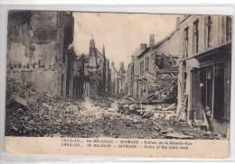 Diksmuide  La Geurre Verstuurd  1916 Weststraat 1914 Perfekte Staat.. - Diksmuide