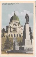 CANADA - MONTREAL - Oratoire St Joseph - Montreal