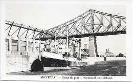 CANADA - MONTREAL - Partie Du Port - Montreal