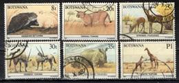 BOTSWANA - 1987 - FAUNA AFRICANA - ANIMALS - USATI - Botswana (1966-...)