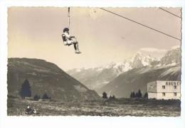 Photo Format CPA - Télésiège Dans Une Station Des Alpes - Cl. Tairraz - Photos