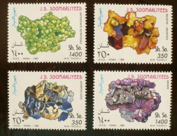 SOOMAALIYEED Mineraux, Yvert N° 491/94 ** MNH, Neuf Sans Charniere - Minéraux