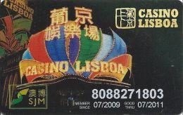 Casino Lisboa Macau China Player Reward Card - Casino Cards