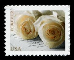 USA, 2011, Scott #4520, Wedding Roses, Forever Single, MNH, VF - Unused Stamps