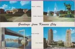 Usa °° Missouri - Kansas City En 4 Photos - 9x14 - écrite 1961 ° T-P - Etats-Unis