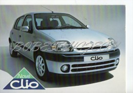 4-085 CZECH REPUBLIC  1998 - Renault Clio - Voitures De Tourisme