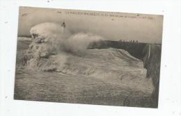 G-I-E , Cp , 17 , LA PALLICE - ROCHELLE , La Jetée Un Jour De Tempête , Ed : ND N° 209 , Voyagée 1912 - La Rochelle