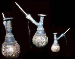 Ancienne Pipe à Opium Padaun´g / Old Burmese Padaun´g Bamboo Opium Pipe - Sonstige