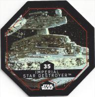 STAR WARS - Jeton Leclerc Cosmic Shells N° 35 - IMPERIAL STAR DESTROYER - Autres Collections