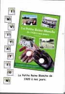 Balle Pelote Invitattion à La Présentation Du Livre La Petite Reine Blanche De 1920 à Nos Jours (Morlanwelz) - Livres, BD, Revues