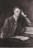Georg Friedrich Händel Nach Einem Gemälde Von Philipp Mercier Um 1748  Das Händelhaus In Halle  BE - Artistes