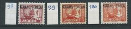 Kwang-Chou-Wang   (oude Franse Kolonie)    Y/T  98 + 99 +140   (X)    (met Plakker) - Unused Stamps