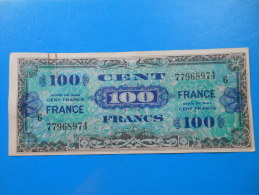 100 Francs Verso France 1945 Série 6 Fayette VF25 - Treasury