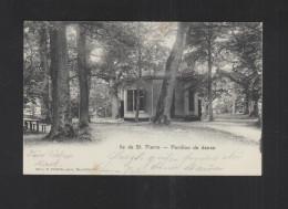 Schweiz AK Ile De St. Pierre Pavillon De Danse 1902 - BE Bern