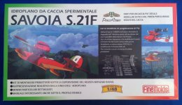 Savoia S.21F   1/48 ( Finemolds ) - Airplanes