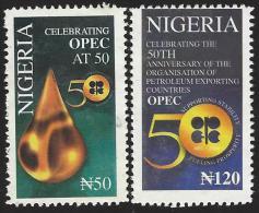 Nigeria 2010 Oil OPEC Organization Of The Petroleum Exporting Countries Jubilee MHN Mint Set - Mineralen