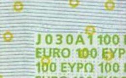 S ITALIA 100 EURO J030 A1 -  FIRST POSITION - TRICHET  UNC - EURO