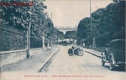 EAUBONNE RUE CONDORCET ANCIENNE RUE DE L'AVENIR MOTO AUTOMOBILE 95 - Eaubonne