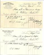 LONDON   WILLIAM JACKS & C°    Contract  31.05.1905 - 3.12.1906 - Royaume-Uni