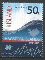 Islande 2014, N°1342 Neuf. Statistiques - Ungebraucht