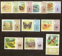 Samoa 1972 Yvertn° 305-314 *** MNH Cote 22,50 Euro Faune Divers - Samoa