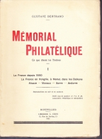 Mémorial Philatélique - Tome 1 -  FRANCE - Literatura