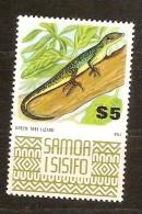 Samoa 1975 Yvertn° 358 *** MNH Cote 13,50 Euro Faune  Lézard - Samoa
