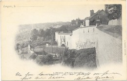 LANGRES  (cpa 52)   Porte HENRI IV   Carte Première 1903 - Langres
