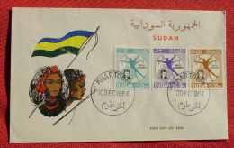 (1047407) Kuvert FDC Sudan Khartoum 10. Dec. 1964. Siehe Bitte Bilder - Sudan (1954-...)