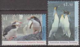 Antarctic.Australian Territory 1992 Penquins.Michel.95+97.MNH 22094 - Australisch Antarctisch Territorium (AAT)