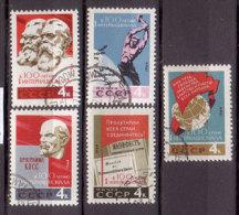 Sowjetunion , 1964 , Mi.Nr. 2948 - 2952 O - 1923-1991 UdSSR