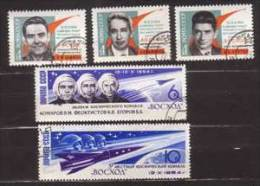 Sowjetunion , 1964 , Mi.Nr. 2965 - 2969 O - 1923-1991 UdSSR