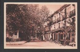 DF / 34  HERAULT / LAMALOU LES BAINS / MONUMENT ET AVENUE CHARCOT - Lamalou Les Bains