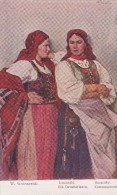 "POLOGNE . Tableau "" Kumoski Sousedky ""  Par W. WODZINOWSKI - Malerei & Gemälde"