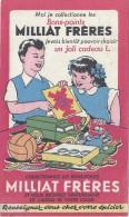 Buvard /Milliat Fréres/Moi Je Collectionne Les Bons-points.../Pâtes Alimentaires - Food