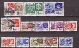 Sowjetunion , 1966 , Mi.Nr. 3279 - 3290 / 3282 Y O - 1923-1991 UdSSR