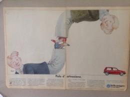ADVERTISING PUBBLICITA´ VOLKSWAGEN POLO D'ATTRAZIONE  -- 1989 -  OTTIMO - Werbung