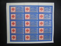 RUSSIA 1975 MNH (**)YVERT 4135 .l'exposition Internationale De La Communication-75.la Feuille 15 Timbres/.Kommunikation - Full Sheets