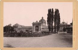 Budapest. Ipar Csarnok - Industrie Halle. Verlag V. Rommler & Jonas K.S. Hof-Photogr. 1887 (?) - Foto