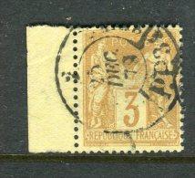 Superbe N° 86 Cachet à Date Noir Des Imprimés - 1876-1898 Sage (Type II)