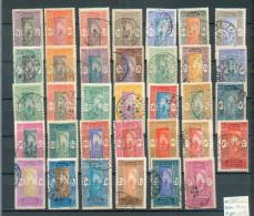 DAH 262 - YT 43-46-47-48à50-53-54-57à59-61-65-70-72-73-74-76-78-85-87-89-90-90A-..... - Dahome (1899-1944)