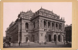 Budapest. Kir. Operahaz. - K. Opernhaus. Verlag V. Rommler & Jonas K.S. Hof-Photogr. 1887 (?) - Foto