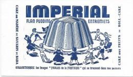 Flan Pudding/IMPERIAL/Entremets //Vers 1950       BUV260 - Sucreries & Gâteaux