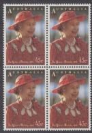 AUSTRALIA, 1993 QUEENS B/DAY BLOCK 4 MNH - 1990-99 Elizabeth II