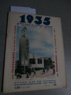 1935 Expo Int. Bruxelles: Nr 42 (24/08/1935): Brasil, Café - Koffie, Loterie Coloniale - Livres, BD, Revues